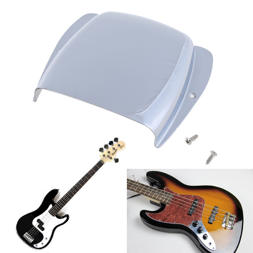 Musical Stringed Instruments Accessories Metal Protective Guitar Bridge Tailpiece Cover for Electric Guitar Bass ARE4 adjustable fixed guitar bridge tailpiece cover for vintage electric guitar parts