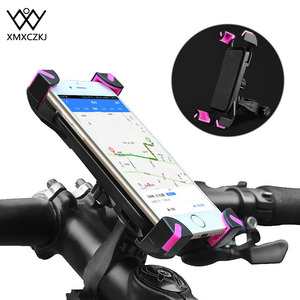 XMXCZKJ Phone Bike Holder Universal Bicycle Phone Holder For Iphone X 8 7 Samsung S8 Xiaomi Redmi 4 4X For Bike Handlebar Holder