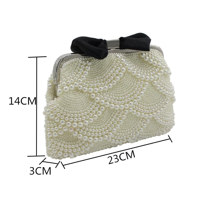 lt;20 Top Cm Arrivo Borsa Pearl Clutch Shell 2018 Dolci Evening Nuziale Gentlewomen Interni Banchetto Slot Donne Nuove Hard Di Mini Pocket fzxX8qw