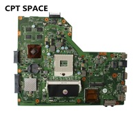 For ASUS A54LY X54LY X54HY K54HR A54HR K54LY Laptop Motherboard REV2 1 Intel HM65 DDR3 PGA989