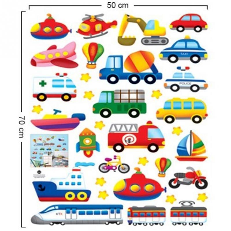 Popular Transportation Wall Stickers-Buy Cheap