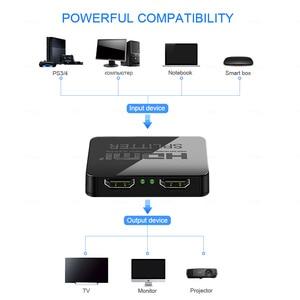 Image 3 - محول HDMI عالي الدقة 1080p للفيديو عالي الدقة HDCP 4K محول HDMI 1X2 سبليت 1 في 2 خارج مكبر للصوت شاشة مزدوجة لـ HDTV DVD PS3 Xbox