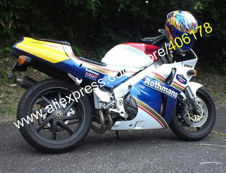 Hot Sales,Rothmans For Honda RVF400R 1994 1995 1996 1997 1998 RVF 400 R NC35 RVF 400R 94 95 96 97 98 Motorcycle Fairing Kit