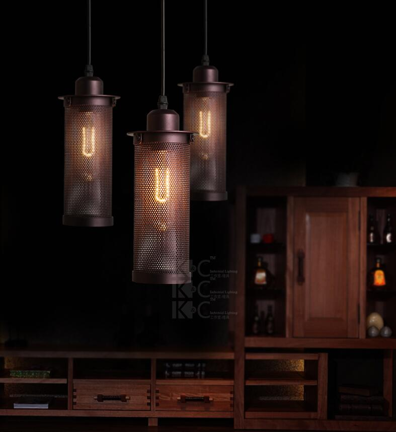 Antique Retro Guard Wire Cafe Loft Droplight Fixture Vintage Iron Cage Pendant Light Hanging Fitting Metal Frame Lamp Holder E27 vintage iron pendant light loft retro droplight bar cafe bedroom restaurant metal cage ith led bulb hanging lamp ac110v 220v e27