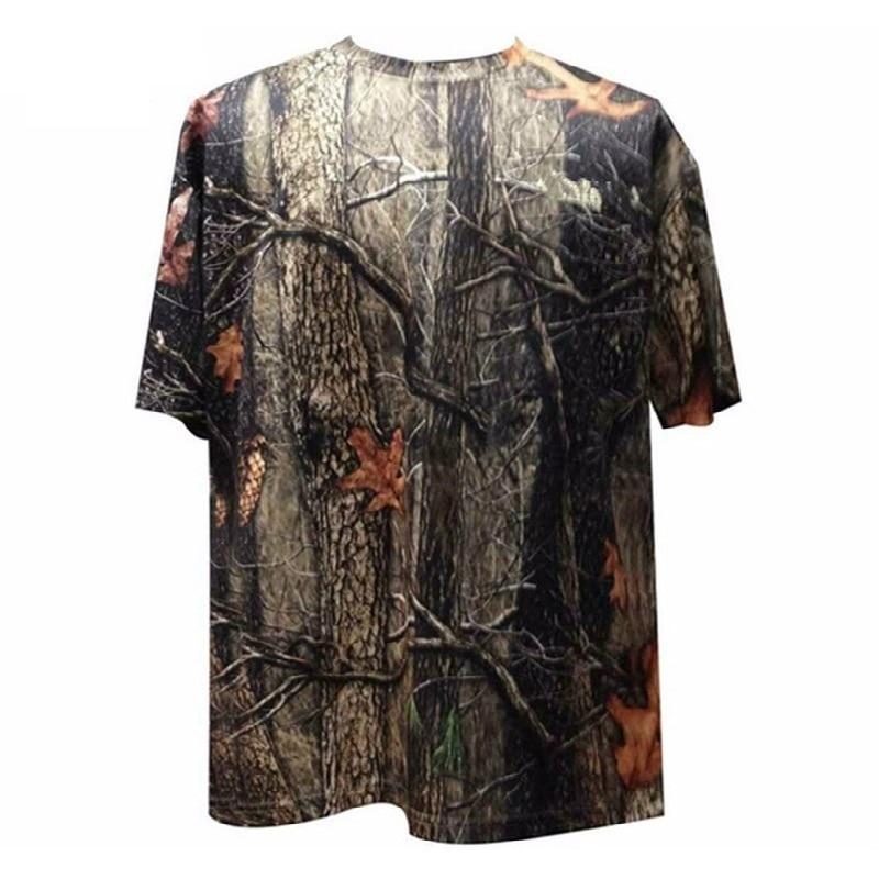 Quick-Drying Nylon Dark Python Skin Hunting Camouflage Long Sleeve T-shirt