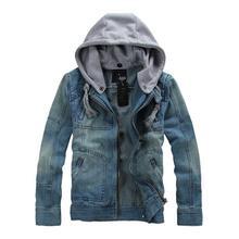 2016 neue Heißer verkauf Casual Mode für männer Jeansjacke Hoch Qality Komfortablen Männlichen Cowboy Jacke Plus Größe M-XXXL