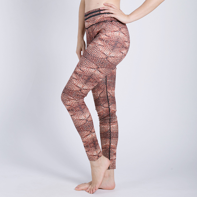 New ladies sports leggings stretch yoga pants running fitness sportswear thin