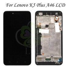 Для Lenovo K5 Plus ЖК-дисплей + сенсорный экран дигитайзер в сборе с рамкой для Lenovo vibe k5 plus A6020a46 Замена телефона