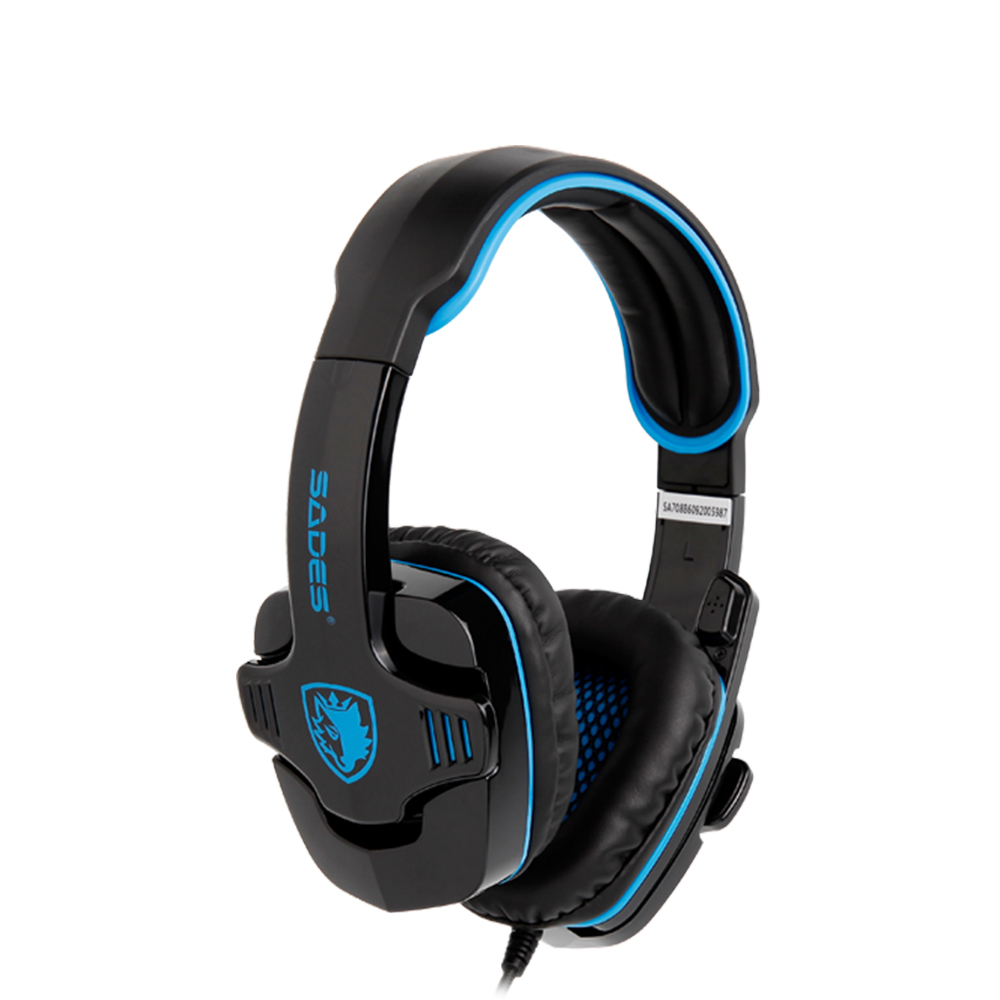 все цены на SADES GPOWER Stereo Sound Gaming Headset headphones with omnidirectional Microphone for PC/PS4/XBOX Gamer онлайн