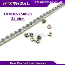 20pcs Trimming resistance 2k ohm 3*3 EVM3ESX50B23 smd Adjustable resistance 3×3 adjustable SMD Potentiometer Resistance