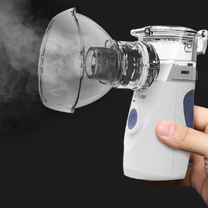 Image 5 - New Mini Handheld Nebuliser HumidifierHealth Care Steaming Tool Ultra sound Atomizer Respirator Adult Kid Inhaler Nebulizer