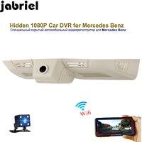 Jabriel Wi Fi Скрытая HD вождение автомобиля рекордер тире камера для 2006 2015 Mercedes Benz ML400 ML500 GL400 GL500 W163 W164 X164 X166