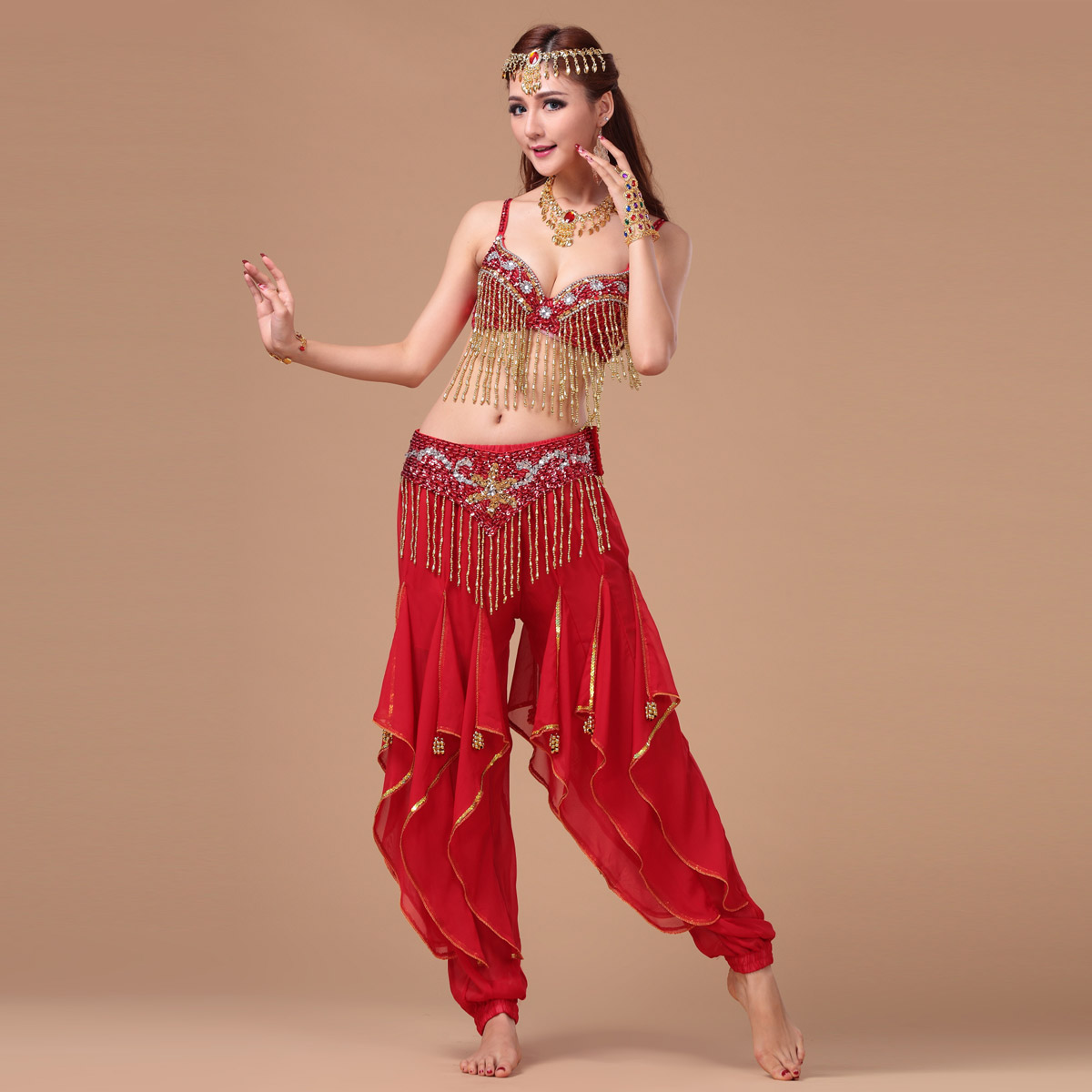 Belly Dance Costumes New Belly Dance Set bra font b belt b font font b pants