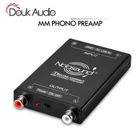 HiFi Ultra Compact MM Phono Turntable Preamp Mini Audio Stereo Phonograph Preamplifier For Turntables