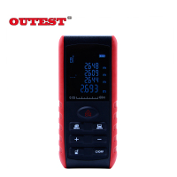 OUTEST Handheld Laser Distance Meter 40M 60M 80M 100M Mini Laser Rangefinder Laser Tape Range Finder