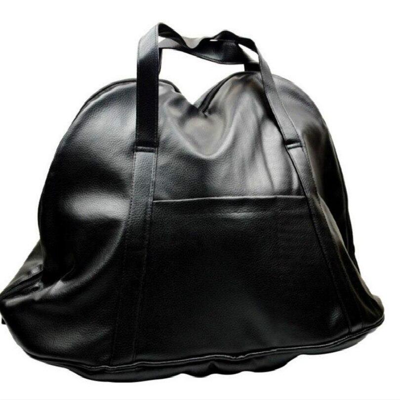 PU waterproof motorcycle luggage bags motorcycle bag helmet bag black free shipping in Top Cases from Automobiles Motorcycles