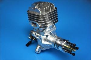 Image 2 - Dle55 55cc dle dle الأصلي جديد واحد اسطوانة 2 Strokes البنزين/بنزين محرك ل rc طائرة