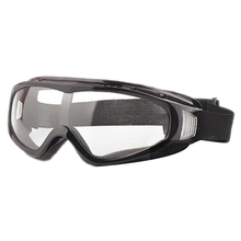 Airsoft Goggles Tactical Paintball Clear Glasses Wind Dust Protection Motorcycle, Black
