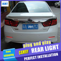 Car Styling for Toyota Camry Taillight assembly 2012 Camry V50 LED Tail Light Aurion Rear Lamp DRL H7 with hid kit 2 pcs.