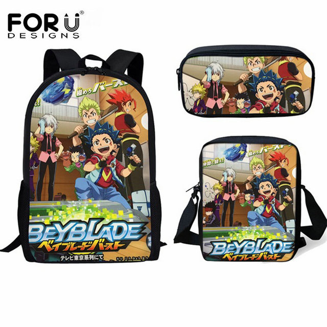 FORUDESIGNS Beyblade Burst Evolution Print Children