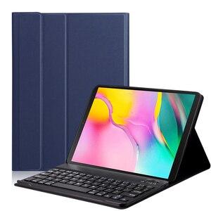 Image 1 - Чехол AROITA для планшета Samsung Galaxy Tab S5E 10,5 дюйма (SM T725/T720), съемный защитный чехол с беспроводной Bluetooth клавиатурой
