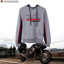 KODASKIN Vintage Hoodies Sweatshirts Motorcycle Racing MotoGP Hooded Hoody for Honda CBF1000(China)