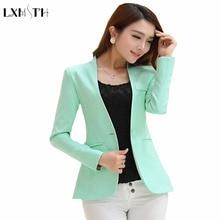 Spring Autumn Long sleeve Shrug Women Blazers Candy Color ladies blazers jackets Suit Jackets women s