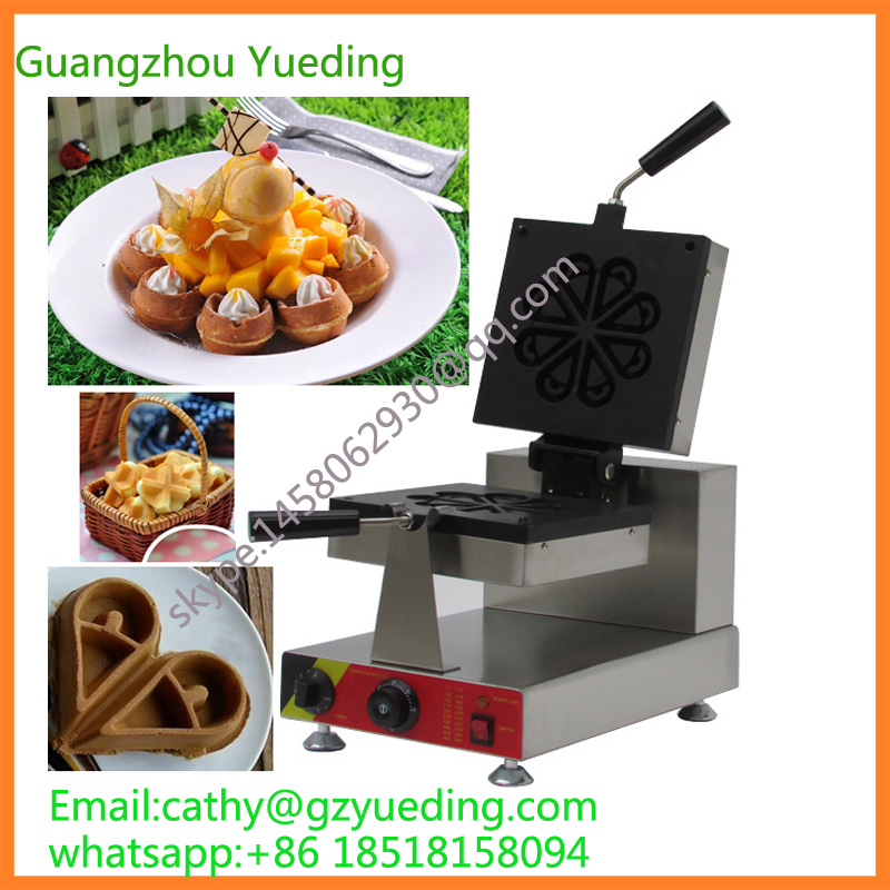 Industrial automatic electric mini rotary water droplets grill waffle machineIndustrial automatic electric mini rotary water droplets grill waffle machine