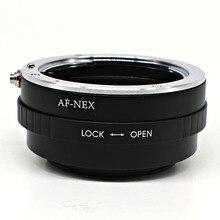 Adaptador de montagem Para Sony Alpha Minolta AF lente para Sony adaptador Nex e mount NEX-T5 A7 A7R A6000 A5000 frete grátis