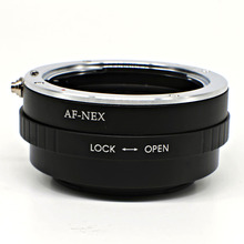 Mount Adapter For Sony Alpha Minolta AF lens to for Sony E mount NEX adapter A7 A7R NEX-5T A5000 A6000  free shipping