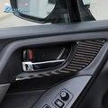 Fluggeschwindigkeit 2 Pcs Carbon Fiber innen tür griff dekoration für Subaru Forester 2013 2014 2015 2016 XV auto styling-in Innenformteile aus Kraftfahrzeuge und Motorräder bei