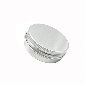 Image 4 - 30 ML / 30G / 1 FLOZ אלומיניום צנצנת כסף צנצנת קרם אבקת ג ל שימוש הטוב ביותר קוסמטי בקבוקים 8.5G אלומיניום יכול פח