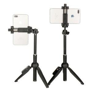 Image 4 - Yunteng אלחוטי Selfie מקל חצובה חדרגל עם Bluetooth מרחוק תריס אוניברסלי עבור iPhone XS X 7 בתוספת Xiaomi טלפונים חכמים