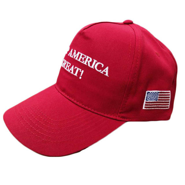 6f3dc855b 2020 Donald Trump Red Black Hat Re-Election Keep America Great Embroidery  USA Flag MAGA New Cap Cotton Baseball Hat Cap Mesh Cap