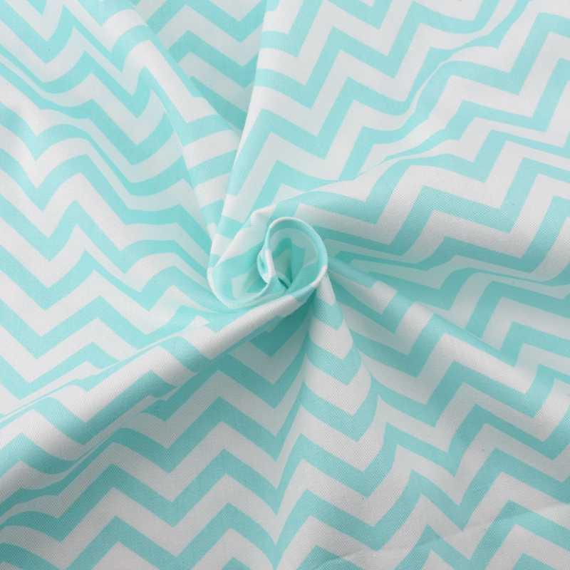 泉牙波パターンシリーズプリントツイル Diy のための綿織物/キルティング/縫製/ベビー/子供のシート、枕素材