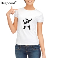Begocool T Shirts Women Funny Panda Anime Cool Tee Tshirt Cute Cat White Diy BGCS45 57W