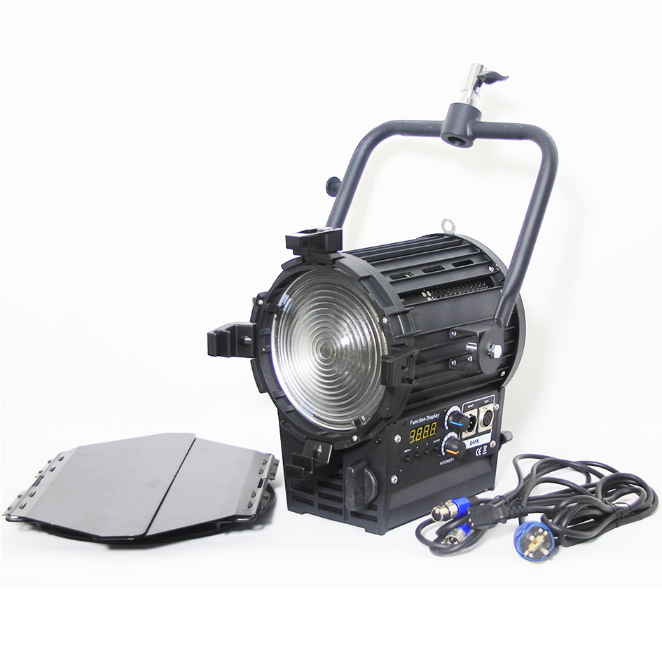 Ship From US Pro As Arri Fresnel 200W Bi-color 3200K~5600K LED Spotlight For Film Photography Camera Video Studio Lighting цены онлайн