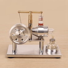 External Combustion Balance Stirling Engine Model Engine Student Experiment Children Adult Operational Capacity Toy New Arrival diesel engine model internal combustion engine working principle physics experiment equipment teaching instrument