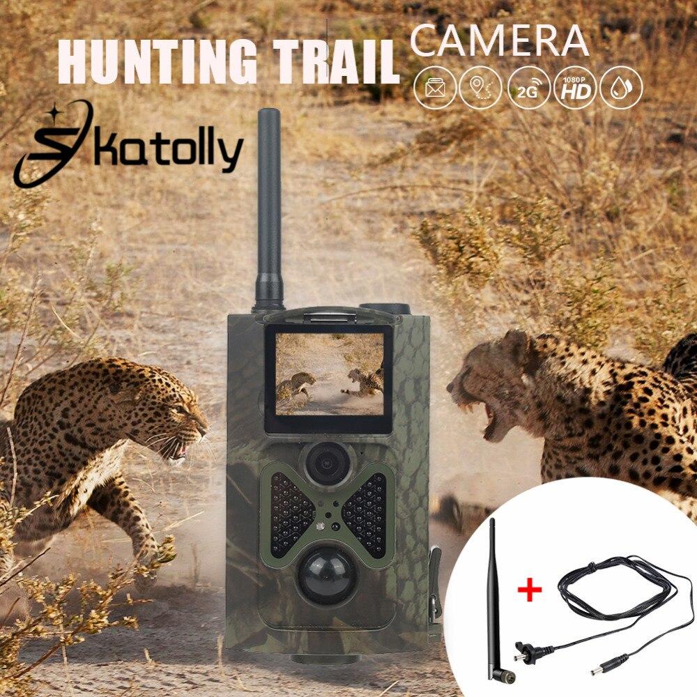 Sktolly vieux chasseur chasse caméra caméra caméra HC-300M Full HD 12MP 1080 P vidéo Vision nocturne MMS GPRS Scouting jeu infrarouge nouveau