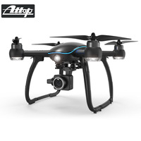 ATTOP RC Helicopter Drone with Camera HD 1080P WIFI FPV Brushless Motor 5G Selfie Drone Professional Foldable Quadcopter