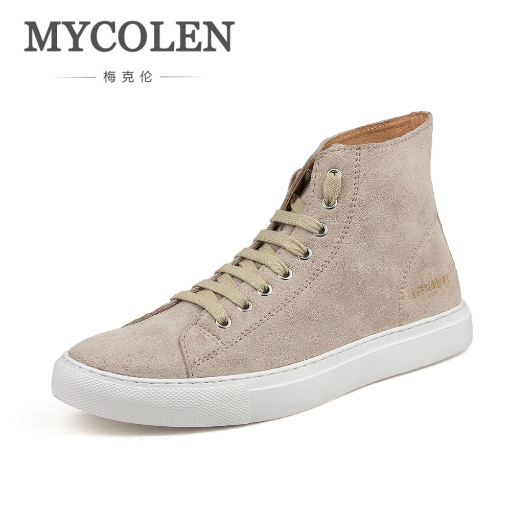 MYCOLEN MenS Boots Solid Genuine Leather Spring/Autumn Handmade Luxury Brand Men Boots Party Wedding Dress Casual BootsMYCOLEN MenS Boots Solid Genuine Leather Spring/Autumn Handmade Luxury Brand Men Boots Party Wedding Dress Casual Boots