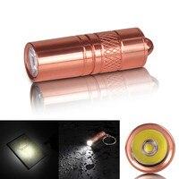 Portable Waterproof Brass M18 XP G2 R5 5W 200 Lumens Mini LED Light Torch Flashlight With