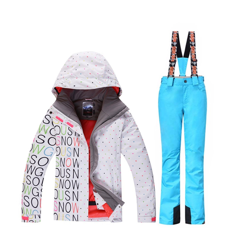 Skiing Jackets Womens Winter Jackets Ski Kits Outdoor Sports Clothing Waterproof And Windproof 10k Winter Suits High Quality Clothing Elegant In Style
