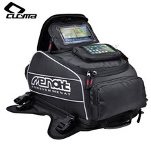 CUCYMA Motorcycle Bag Waterproof Backpack Multi-function Oil Fuel Tank Bags Oxford Saddle