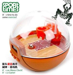 Reloj despertador digital deporte baloncesto