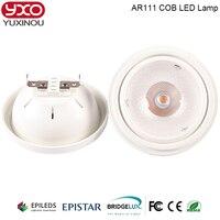 15W LED COB AR111 Spotlight G53 Aluminum Alloy 85 265V Warm Cold White 30 Degree Replace