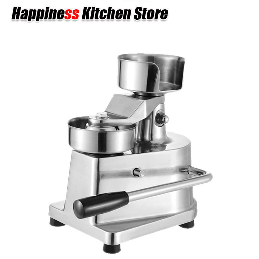 Christmas Gift Manual Hamburger Press Burger Maker Machine Round Meat shaping Aluminum Machine Forming Burger Patty