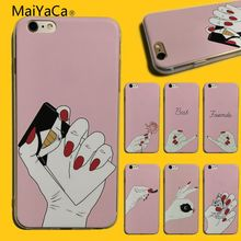 027d621c58b Fondo rosa MaiYaCa fotos personalizadas funda de teléfono de goma suave negro  para iphone 5 5s