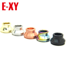 E-XY Newest Summit Drip Tip Vape Wide Bore Drip Tips Top Cap Mouthpiece Kupcake 5 Colors fit for24MM RDA Atomizer