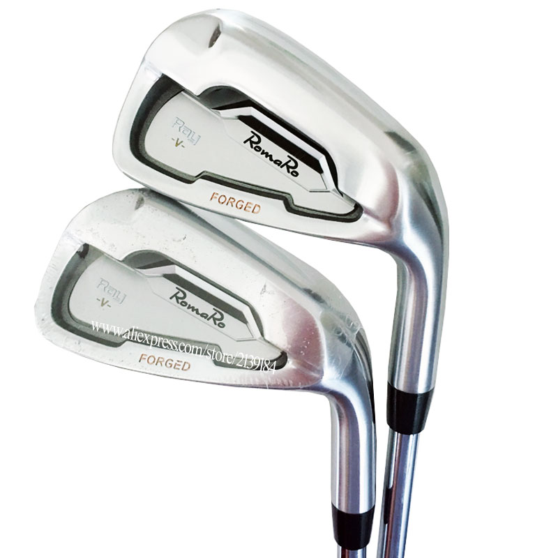 Hot Sale New Mens Cooyute Golf Clubs Set RomaRo Ray V Golf Irons Set 4-9P And N S PRO 950 R Steel Golf Shaft Free Shipping